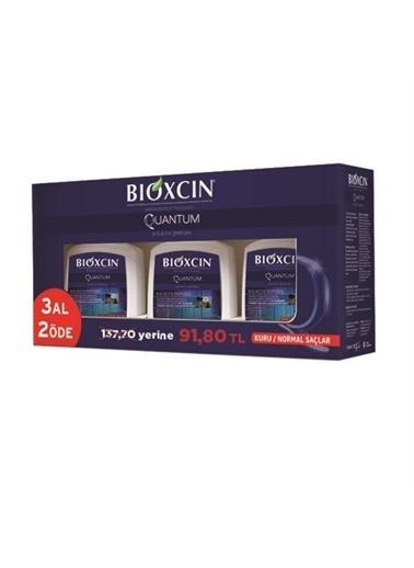 Bioxcin Bioxcin 3'Lü Paket Kuru Saçlariçin Quantum Şampuan 300 Ml Renksiz